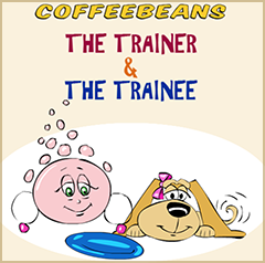 Coffeebeans Comic Capsule by - The Trainer and the Trainee - by Shafali R. Anand and Creative Agni